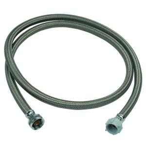3/4 in. Female Hose Thread x 7/8 in. Ballcock Nut x 72 in. Braided Polymer Toilet Connector