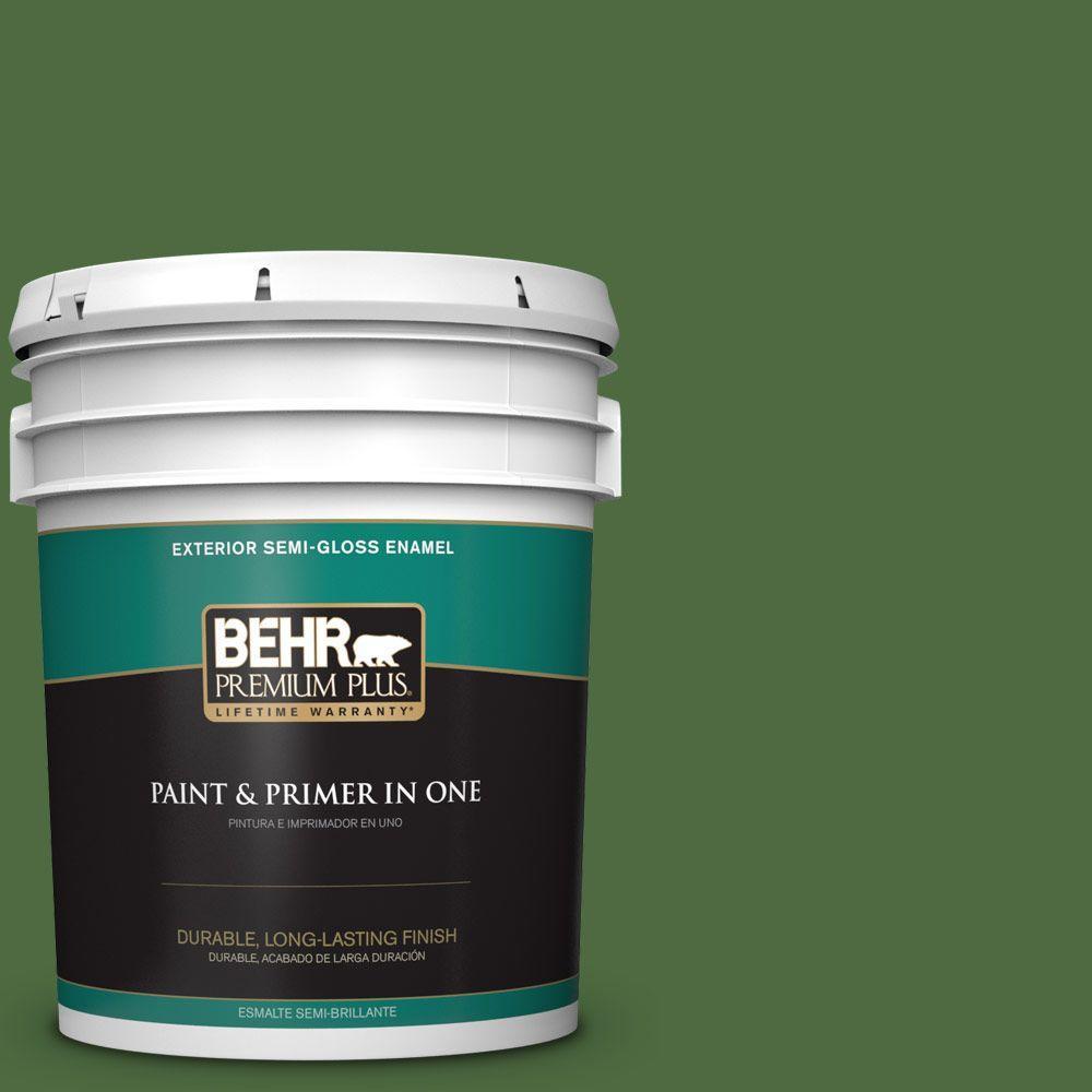 5-gal. #440D-7 Vineyard Semi-Gloss Enamel Exterior Paint