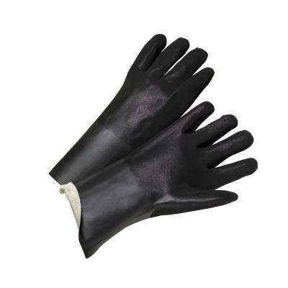 14 in. Rough Grip Large PVC Interlock Gloves (12-Pack)
