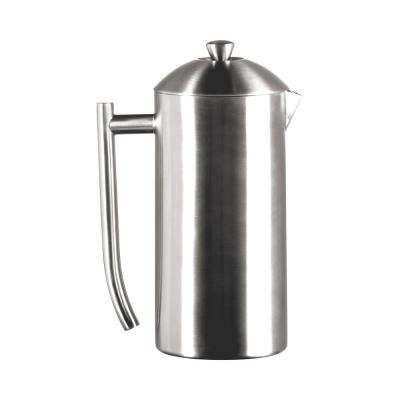 8-Cup Brushed Finish Stainless Steel French Press