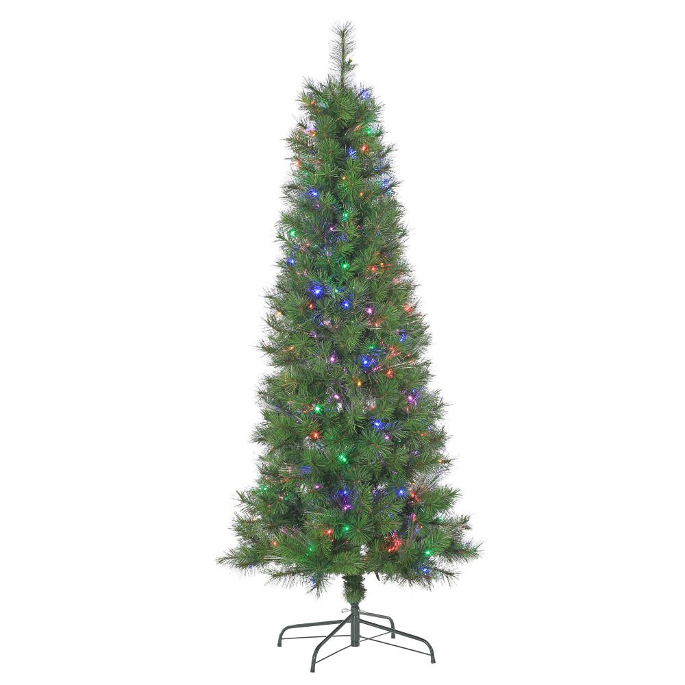 7 5 Ft Pre Lit Artificial Christmas Trees