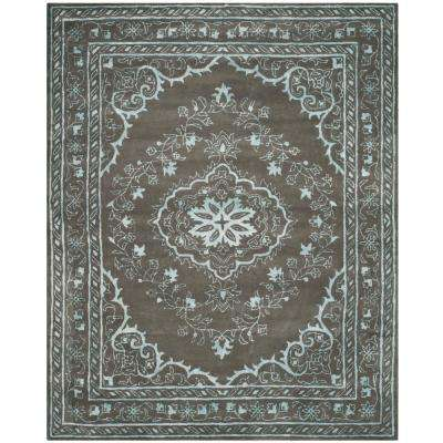 Glamour Dark Gray 8 ft. x 10 ft. Area Rug