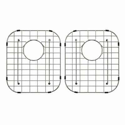 Stainless Steel Bottom Grid for KBU22 Double Bowl 32in. Kitchen Sink, 12 3/8in. x 14 1/2in. x 1 1/4in.