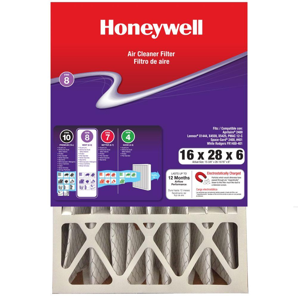 16 in. x 28 in. x 6 in. Pleated Air Cleaner