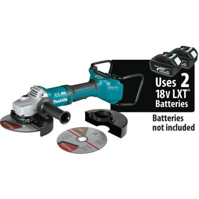 18-Volt X2 LXT Lithium-Ion 36-Volt Brushless Cordless 7 in. Cut-Off/Angle Grinder with Electric Brake and AWS Tool-Only