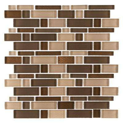 Heritage Cold Pencil 12 in. x 12 in. x 8 mm Glass Mosaic Tile