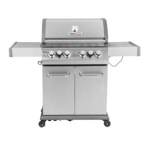 Royal Gourmet Luxury 4-Burner in Stainless Steel Propane Gas Grill with Side Sear Burner and Infrared Technology by Royal Gourmet