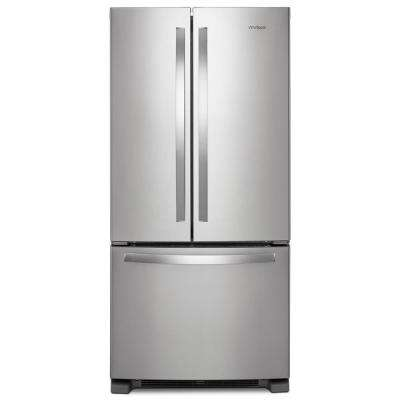 22 cu. ft. French Door Refrigerator in Fingerprint Resistant Stainless Steel