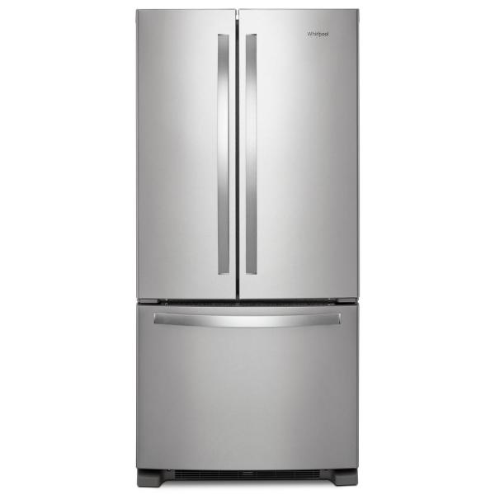 22 cu. ft. French Door Refrigerator in Fingerprint Resistant Stainless Steel