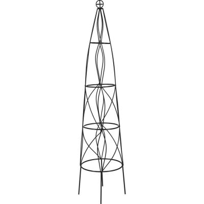 51 in. Cast Iron Cone Obelisk