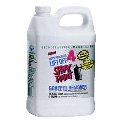 1 gal. #4 Spray Paint Graffiti Remover