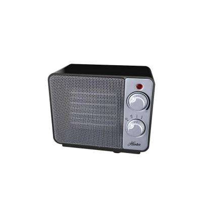 1500-Watt Ceramic Retro Electric Portable Heater - Black