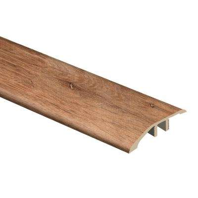 Trail Oak/Georgia Clay 1/3 in. Thick x 1-13/16 in. Wide x 72 in. Length Vinyl Multi-Purpose Reducer Molding