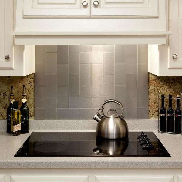 Brushed Stainless Metal Decorative
