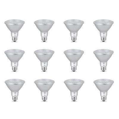 75-Watt Equivalent PAR30 Dimmable CEC Tirle 24 Compliant LED ENERGY STAR Flood Light Bulb, Bright White (12-Pack)