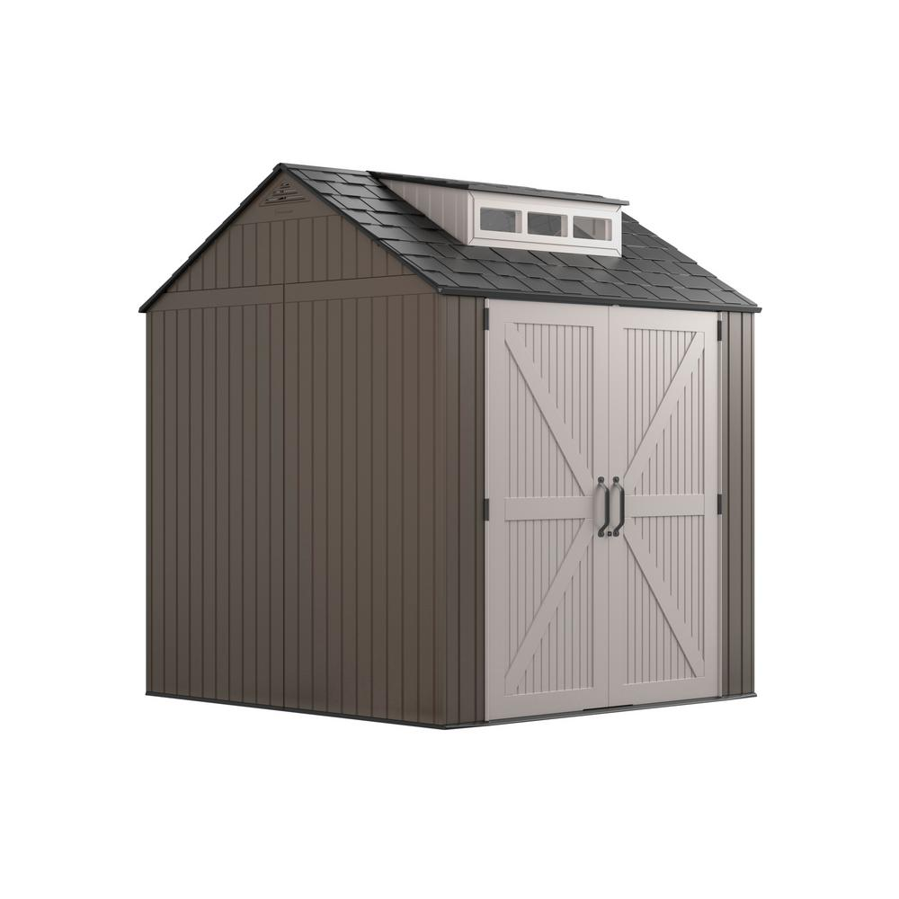 Rubbermaid 7 ft. x 7 ft. Storage Shed
