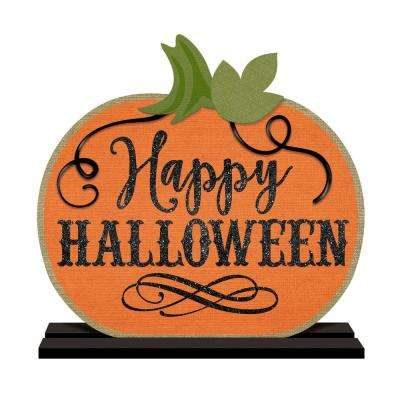 14 in. x 10.5 in. Halloween Standing Sign (2-Pack)