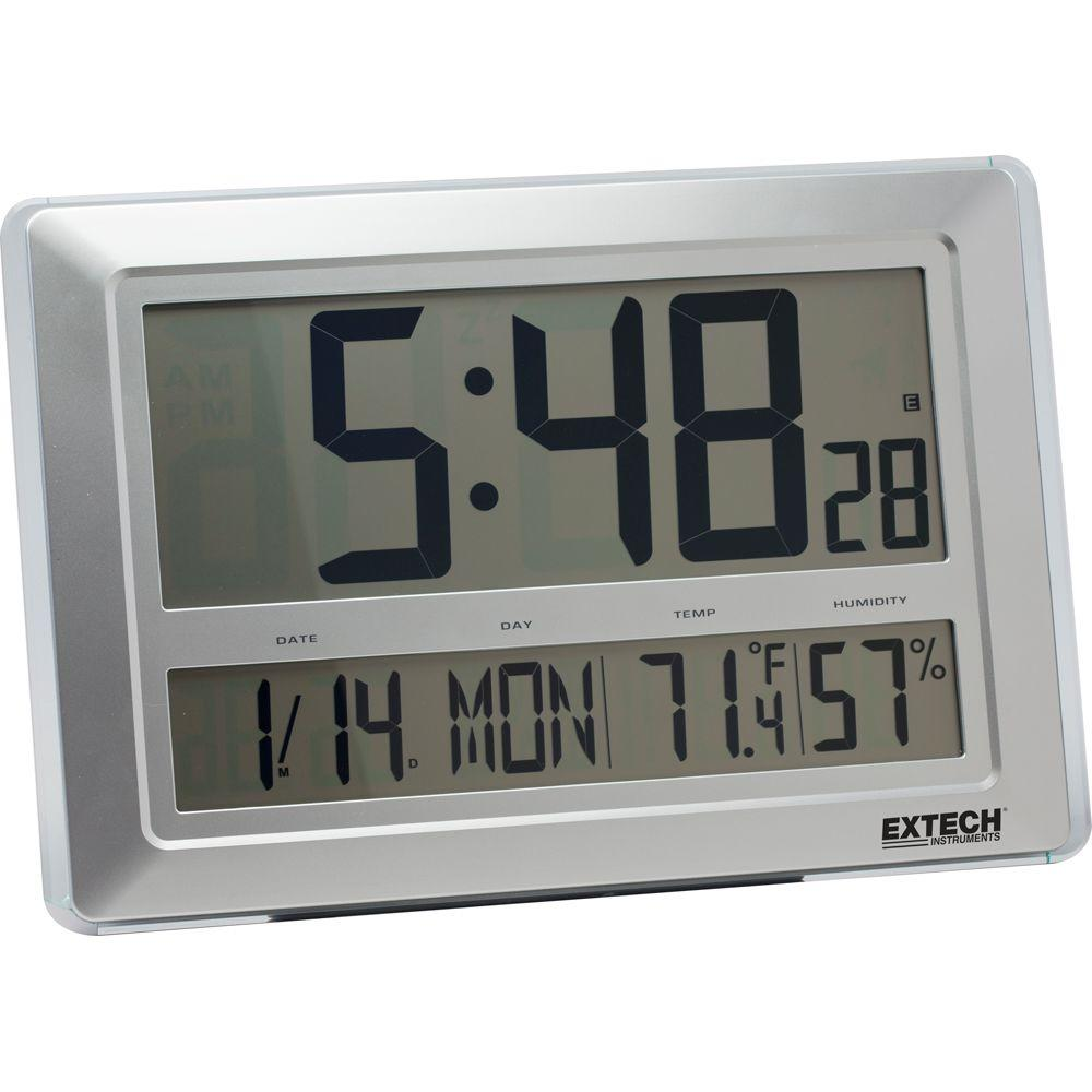 Radio Controlled Hygro-Thermometer Clock