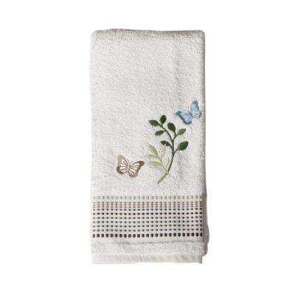 Fluttering 16 in. W x 26 in. L Cotton Hand Towel