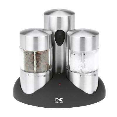 Stainless Steel Salt & Pepper Mill