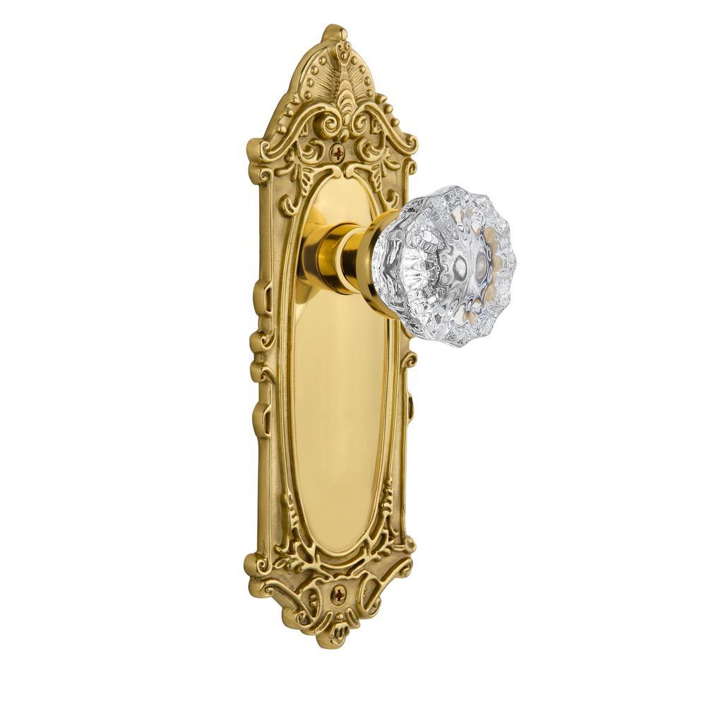 Nostalgic Warehouse Victorian Plate Single Dummy Crystal Glass Door ...