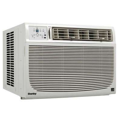 15000 BTU 115-Volt Window Air Conditioner in White with Remote