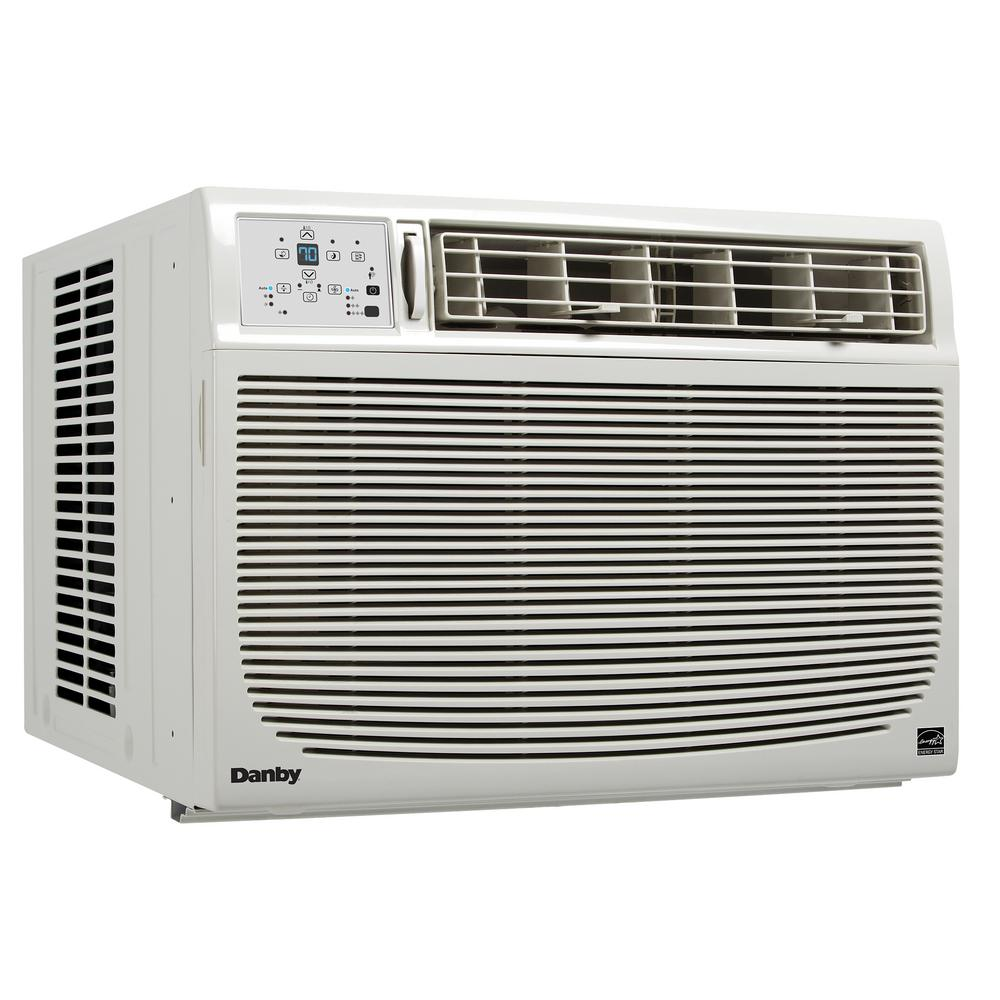 15000 BTU 115-Volt Window Air Conditioner with Remote in White