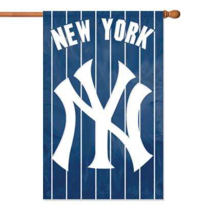 New York Yankees Applique Banner Flag