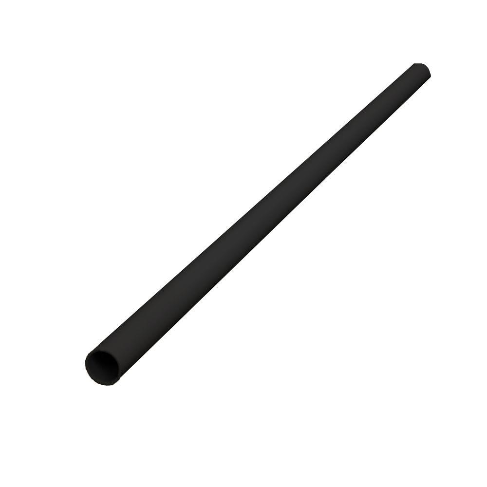 Pro 36-3/4 in. x 3/4 in. Black Aluminum Round Baluster (21-Pack)