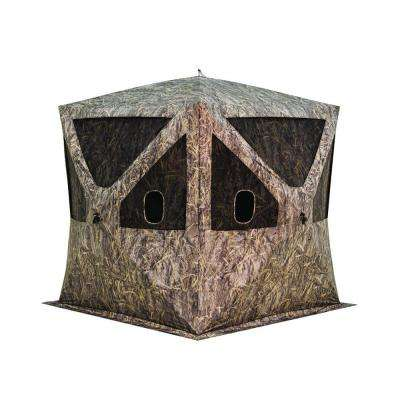 Big Cat 350 3-Person Hub Blind Blades Camo