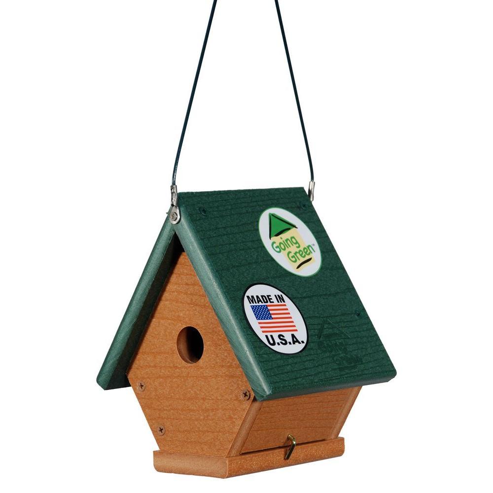 Going Green Wren Bird House
