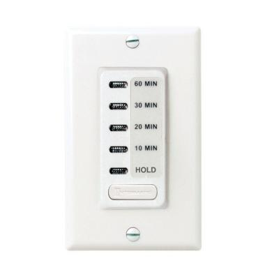 15 Amp 60-Minute Countdown In-Wall Timer - White