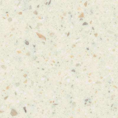 2 in. x 2 in. Solid Surface Countertop Sample in Luster