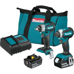 Deals on Makita 18-Volt LXT Lithium-Ion Brushless 2-Piece Combo Kit