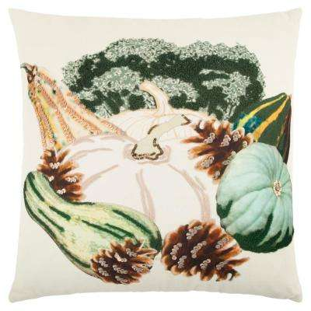 Fall Pumpkin 20 in. x 20 in. Decorative Filled Pillow