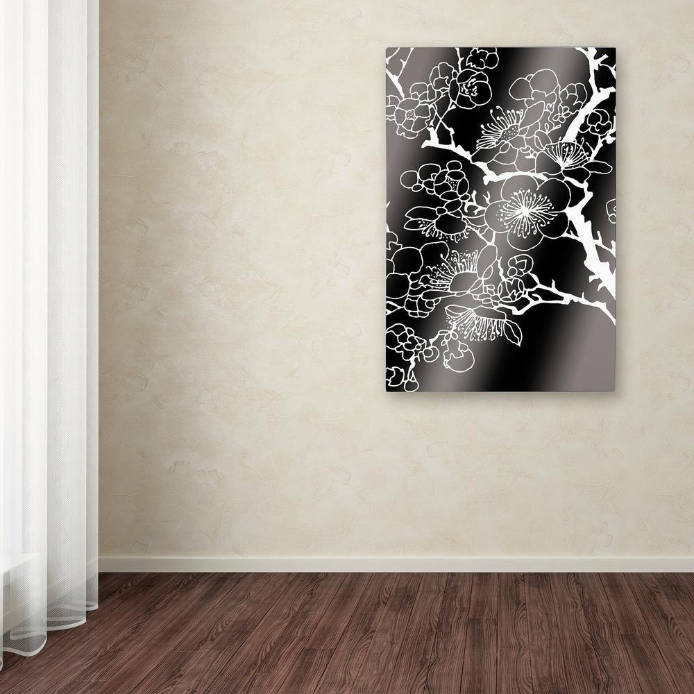 Trademark Fine Art 19 in. x 12 in. ''Alu Flowers'' by