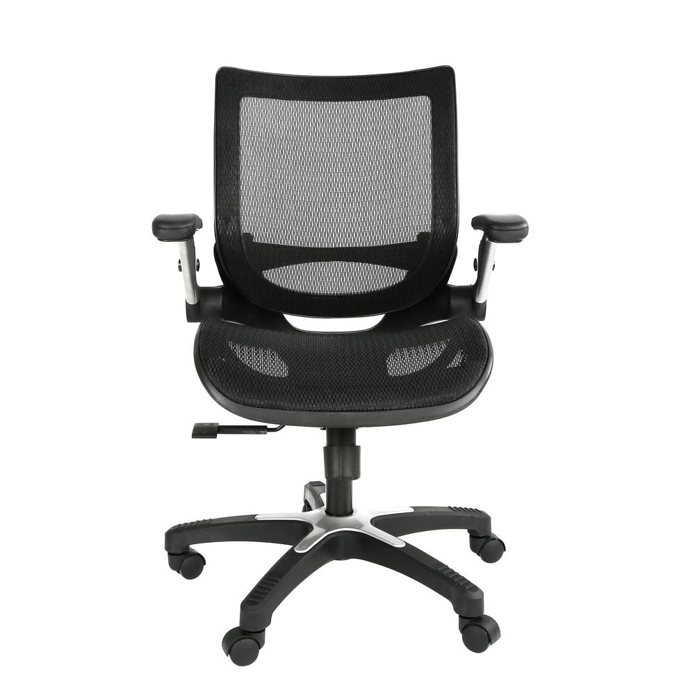 Poly And Bark Karlen Black Office Chair
