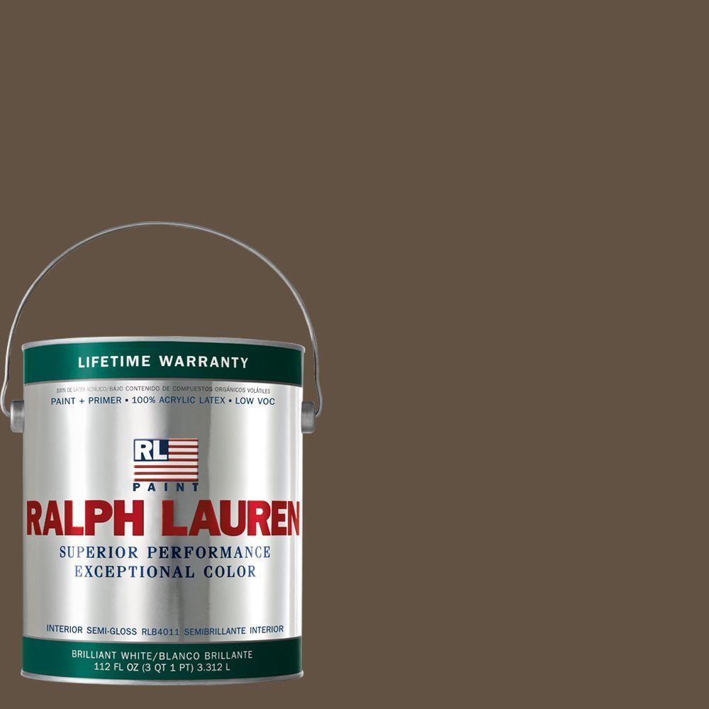 Ralph Lauren 1-gal. Artist Brown Semi-Gloss Interior Paint