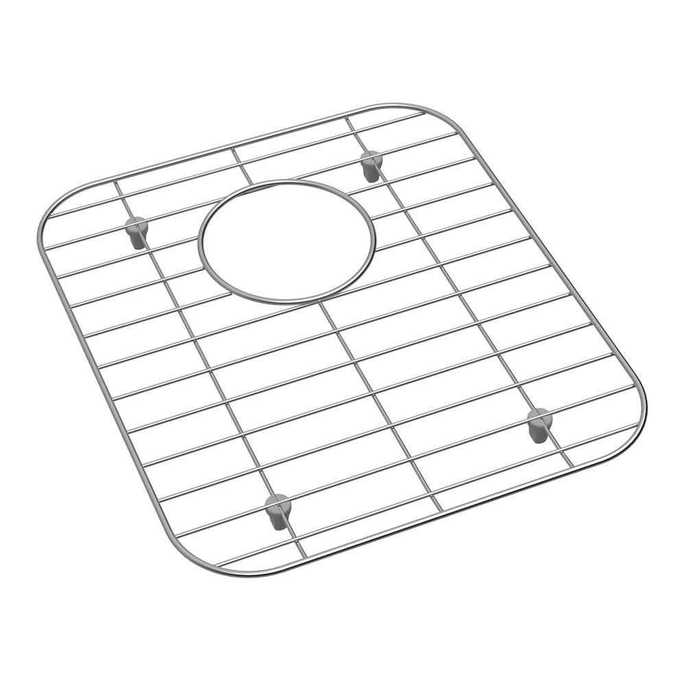 Elkay Stainless Steel Kitchen Sink Bottom Grid Fits Bowl Size 14 in. x 15.75 in.