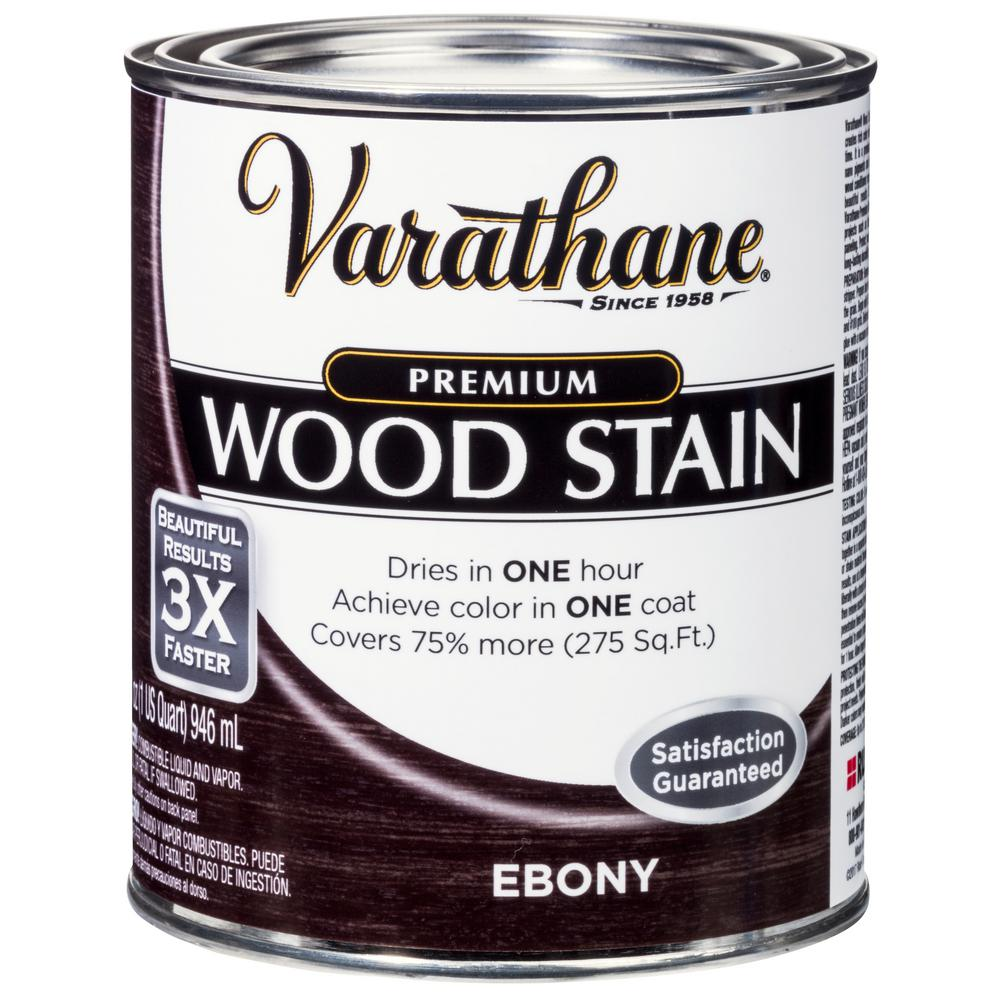 Exceptionnel Ebony Premium Fast Dry Interior Wood Stain (2 Pack)