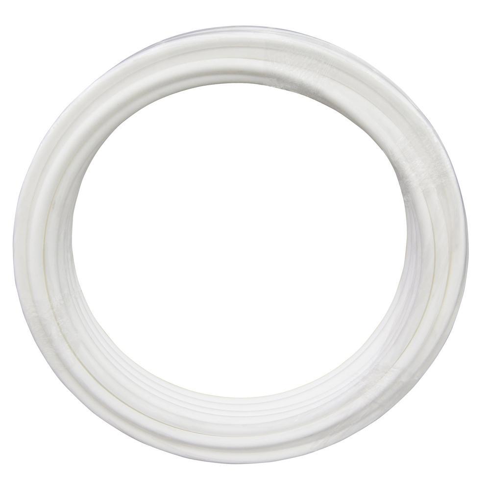 1 in. x 100 ft. White PEX Pipe