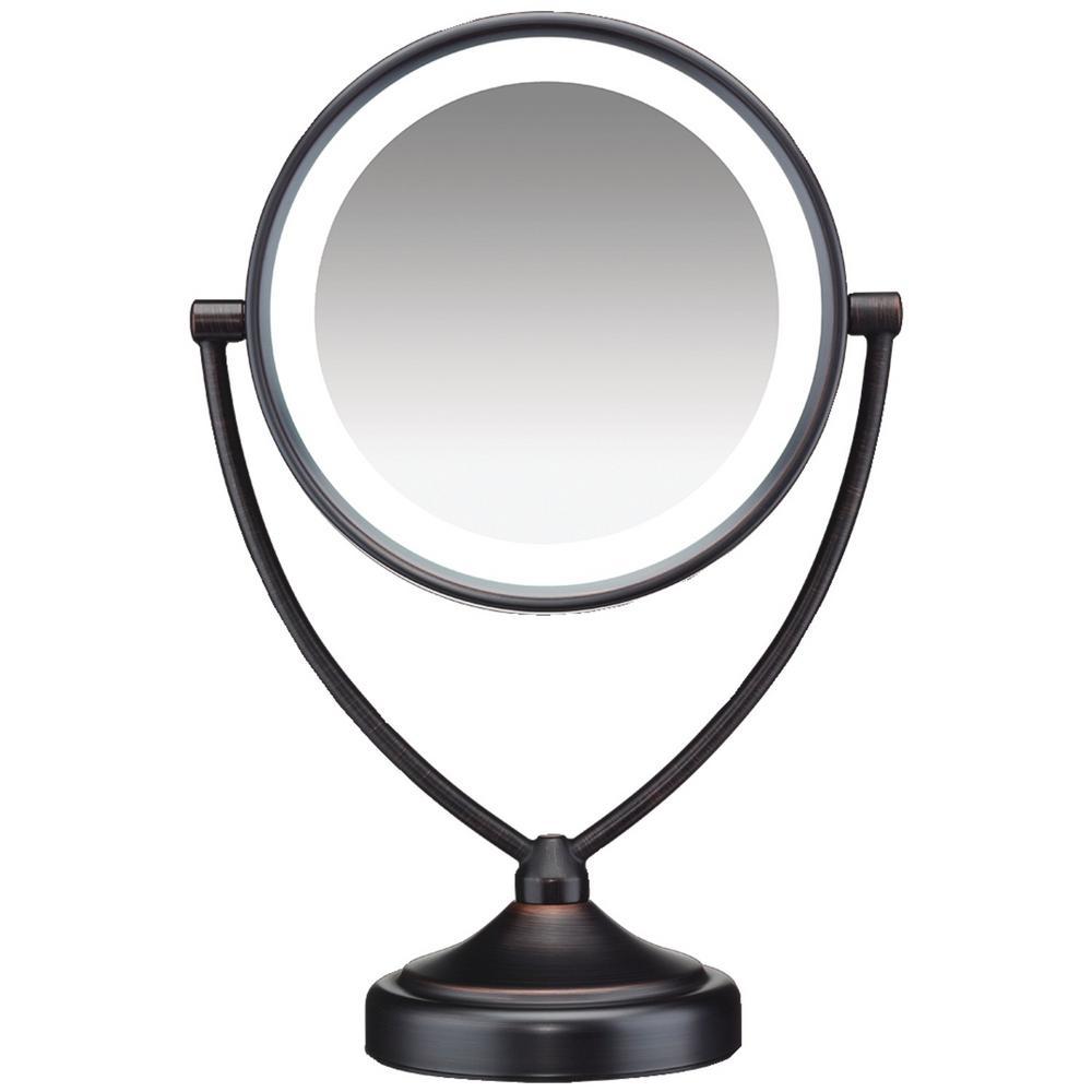 9.5 in. x 7.4 in. Illuminations Fluorescent Vanity Mirror