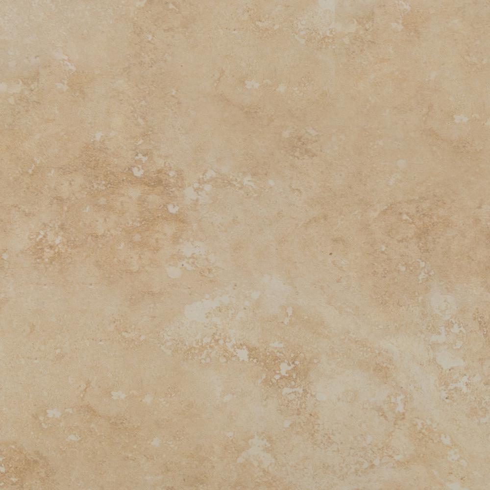 Msi Roman Beige 18 In X 18 In Glazed Ceramic Floor And
