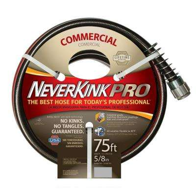 5/8 in. Dia x 75 ft. Commercial Duty Water Hose
