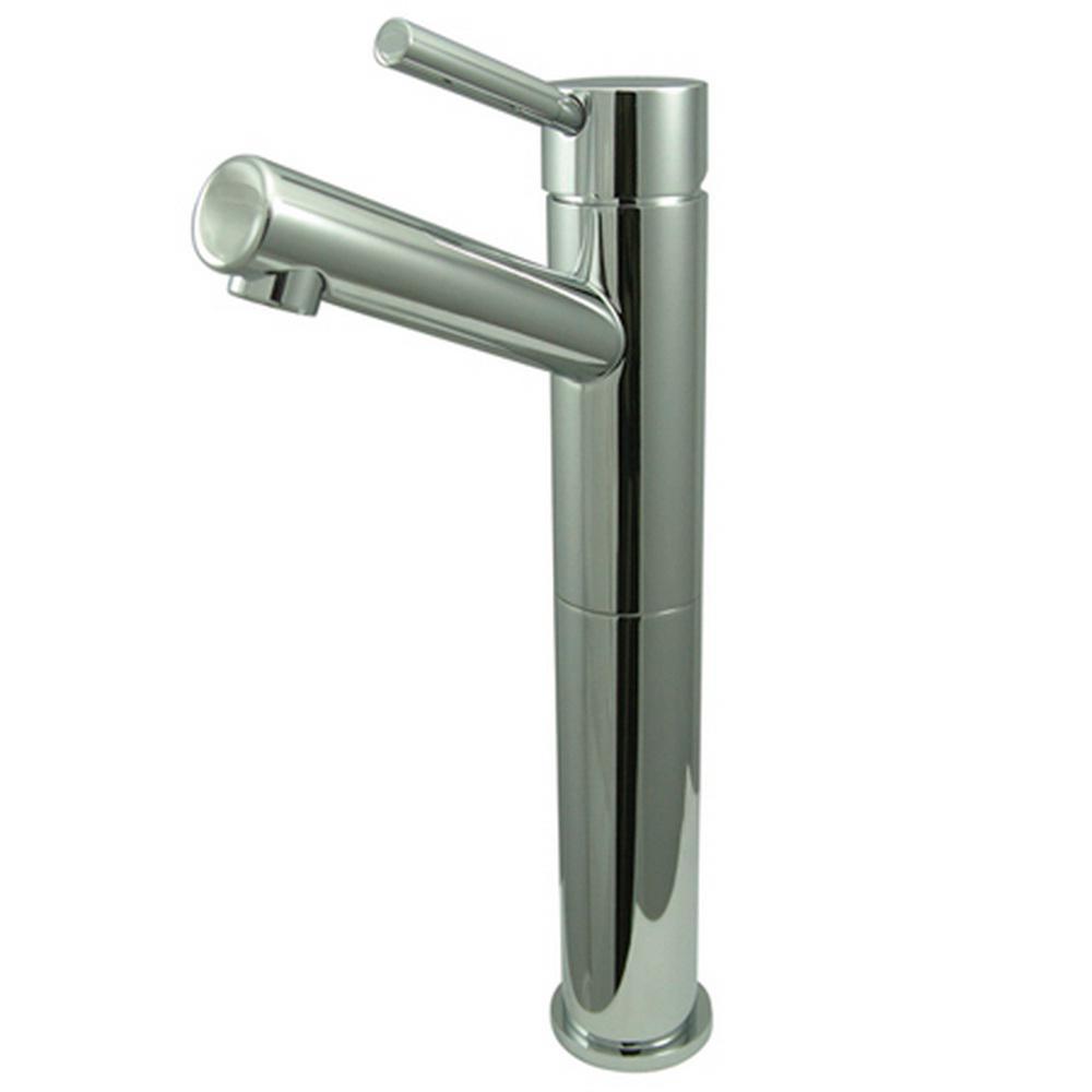 Kingston Brass Abington Single Hole Single Handle Vessel Bathroom Faucet In Chrome 9301200250