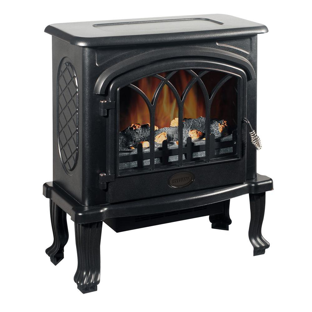 Quality Craft 23 in. Freestanding Electric Stove in Matte Black-DISCONTINUED