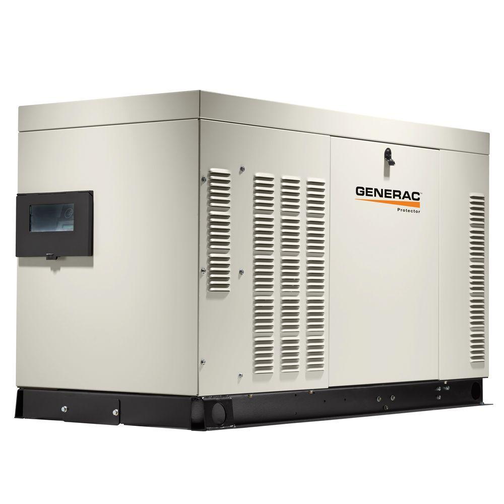 30,000-Watt 120-Volt/240-Volt Liquid Cooled Standby Generator 3-Phase with Aluminum Enclosure