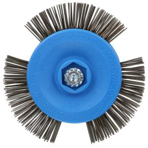 Avanti Pro 4 inch Drill Mount Quick-Strip Wire Brush by Avanti Pro
