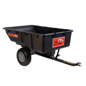 Brinly-Hardy 850 lb. 17 cu. ft. Tow-Behind Poly Utility Cart by Brinly-Hardy