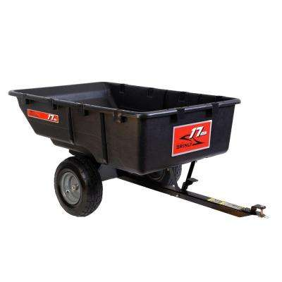 17 cu. ft. 850 lb. Tow-Behind Poly Utility Cart.